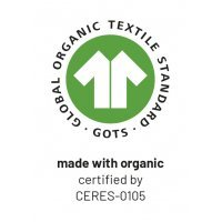 GOTS made with organic