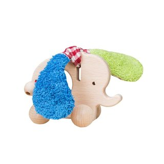 Efie Elefant mit Rollen, Made in Germany